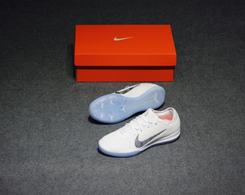 Nike Mercurial VaporX 12 Pro IC Just Do It - White/Cool Grey/Total Orange