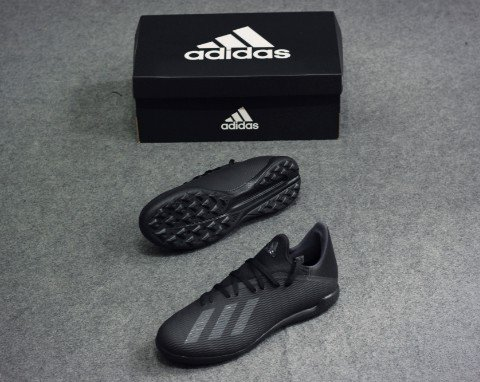 adidas X 19.3 TF Dark Script - Core Black/Silver Metallic