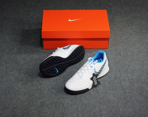 Nike Tiempo LegendX 7 Academy TF Just Do It - White/Blue Hero