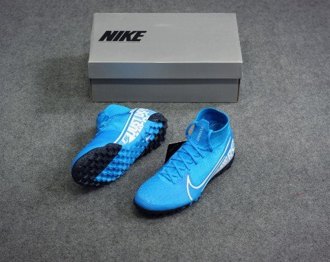 Nike Mercurial Superfly 7 Elite TF New Lights - Blue Hero/White