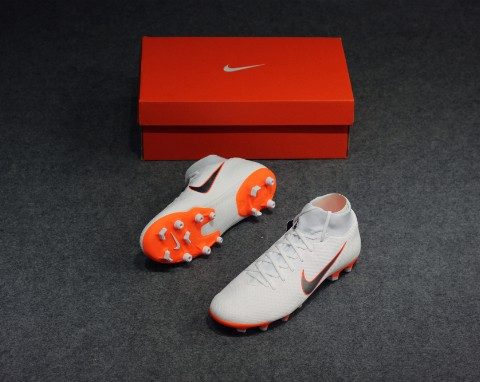 Nike Mercurial Superfly 6 Academy MG Just Do It - White/Total Orange