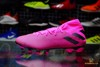 adidas Nemeziz 19.3 MG Hard Wired - Shock Pink/Core Black
