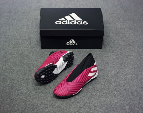 adidas Nemeziz Tango 19.3 TF Laceless Hard Wired - Shock Pink/Footwear White/Core Black