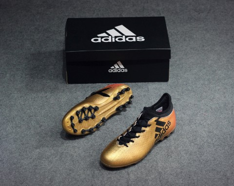 ADIDAS X TANGO 17.3 AG SKYSTALKER - TACTILE GOLD METALLIC/CORE BLACK/SOLAR RED