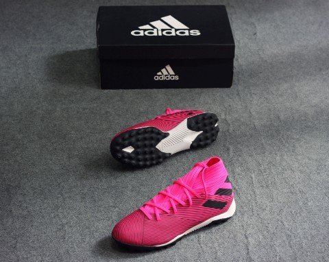 adidas Nemeziz 19.3 TF Hard Wired - Shock Pink/Core Black
