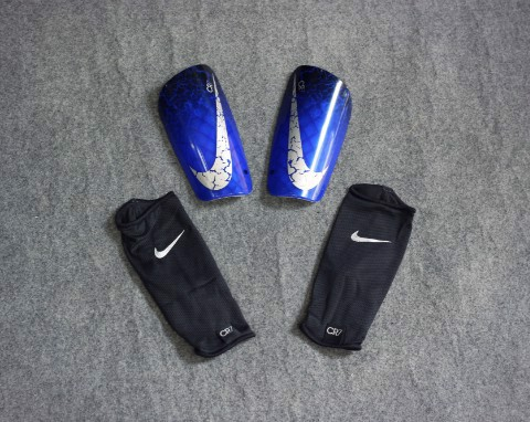 Nike Mercurial Lite Shin guards CR7 NATURAL DIAMOND - Deep Royal/Black/Silver