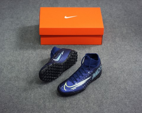 NIKE MERCURIAL SUPERFLY 7 ACADEMY TF DREAM SPEED - BLUE VOID/BARELY VOLT/BLACK