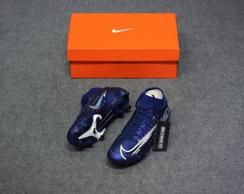 Nike Mercurial Superfly 7 Academy MG Dream Speed - Blue Void/Barely Volt/Black