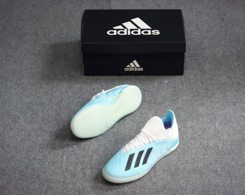 adidas X 19.1 IN Hard Wired - Bright Cyan/Core Black