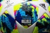 adidas Football Champions League Finale Top Training - White/Bright Cyan/Solar Yellow