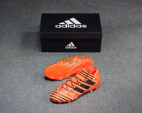 ADIDAS NEMEZIZ 17.2 FG SOLAR ORANGE/CORE BLACK