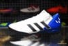 adidas Nemeziz Messi 18.3 TF Team Mode - Footwear White/Core Black/Blue Kids