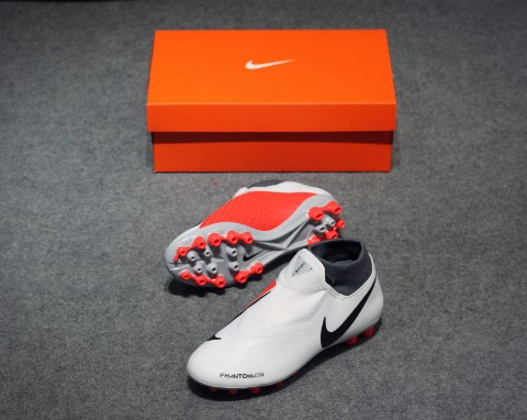 Nike Phantom Vision Academy DF AG Raised On Concrete - Pure Platinum/Light Crimson