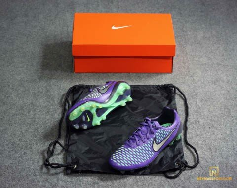 Nike Magista Opus FG Hyper Grape/Metallic Silver/Ghost Green