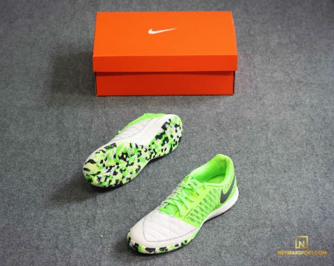 Nike Lunargato II IC - White/Anthracite/Electric Green