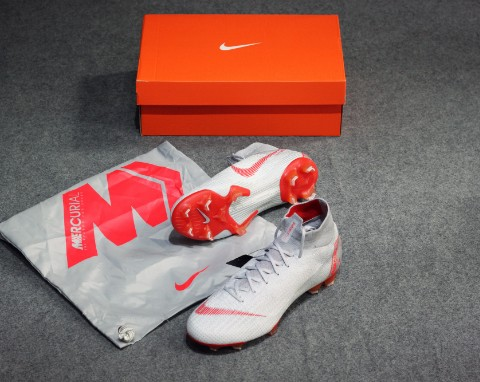 Nike Mercurial Superfly 6 Elite FG Raised On Concrete - Wolf Grey/Light Crimson