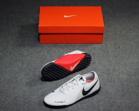 Nike Phantom Vision Academy TF Raised On Concrete - Pure Platinum/Light Crimson