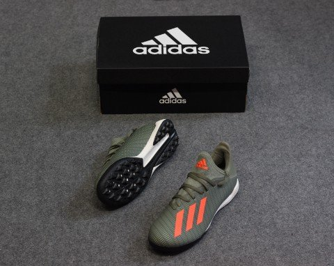 adidas X 19.3 TF Encryption - Legion Green/Solar Orange/Core White