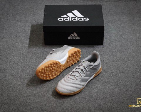 adidas Copa 20.3 TF Encryption - Grey Two/Silver Metallic/Grey Three