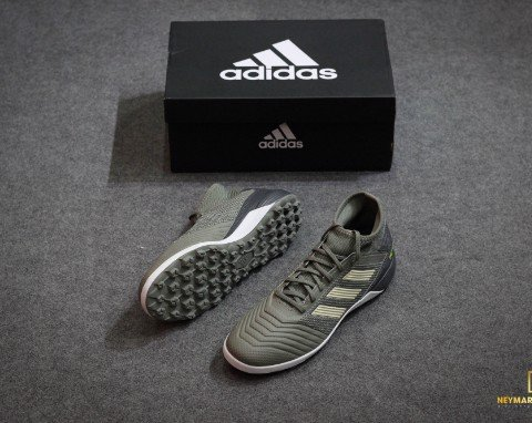adidas Predator 19.3 TF Encryption - Legion Green/Sand/Solar Yellow
