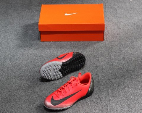 Nike Mercurial VaporX 12 Academy TF CR7 Chapter 7: Built On Dreams - Red/Black