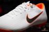 NIKE MERCURIAL VAPORX 12 ACADEMY MG JUST DO IT - WHITE/COOL GREY/TOTAL ORANGE