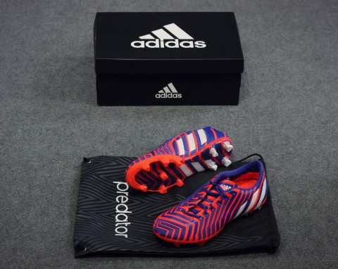 Adidas Predator Instinct FG Solar Red/White/Night Flash