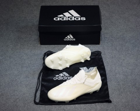 adidas X 18.1 FG/AG Spectral Mode - Off White/Core Black