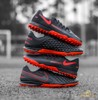 Nike Phantom GT React Pro TF Black X Chile Red - Black/Chile Red/Dark Smoke Grey