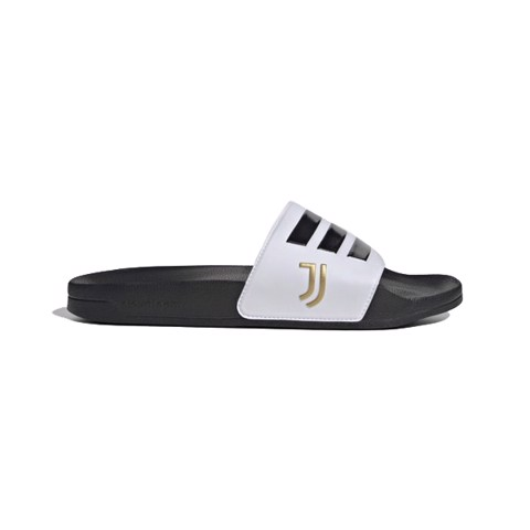 ADIDAS ADILETTE LITE JUVENTUS - Cloud White / Core Black / Matte Gold