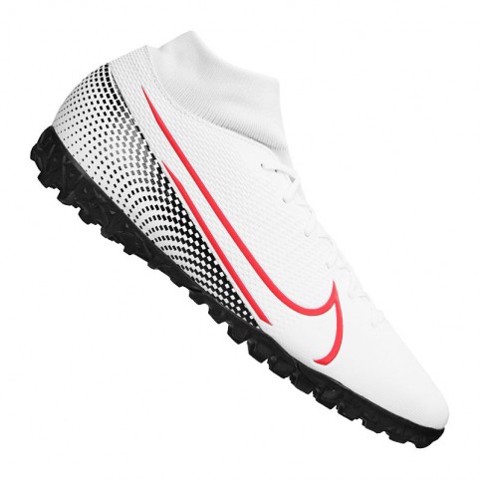 Nike Mercurial Superfly 7 Academy TF LAB2 - White/Laser Crimson/Black