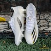 adidas X Ghosted .1 FG/AG Inflight - Footwear White/Core Black/Metallic Gold