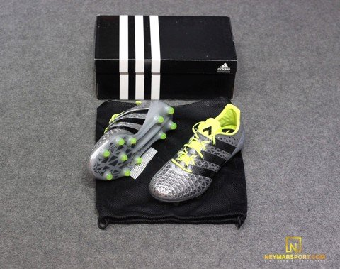 Adidas ACE 16.1 FG/AG Mercury Silver Metallic/Core Black/Solar Yellow
