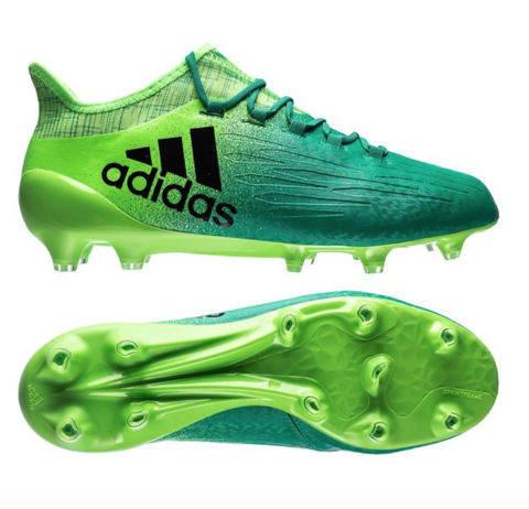 adidas X 16.1 FG Turbocharge - Solar Green/Core Black