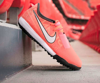 Nike Phantom Venom Academy TF Fire - Bright Mango/White/Orange Pulse Kids