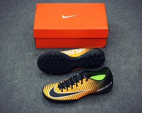 Nike MercurialX Victory VI TF Lock in. Let loose. - Laser Orange/Black/White