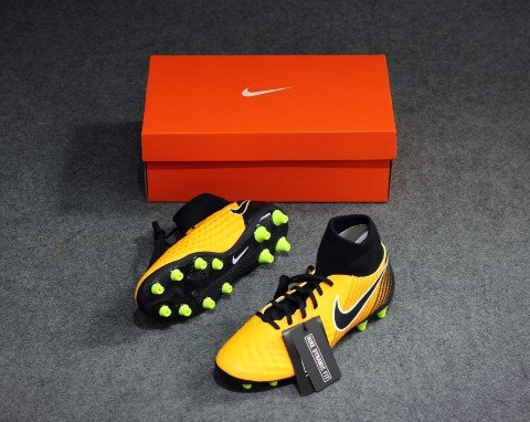 NIKE MAGISTAX ONDA II DF AG LOCK IN. LET LOOSE. - LASER ORANGE/BLACK/WHITE