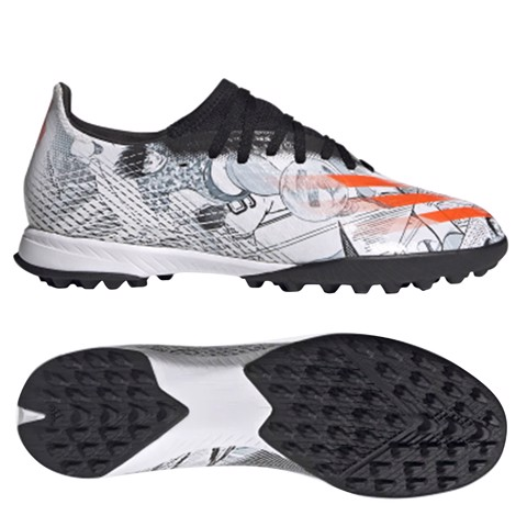 Adidas X Ghosted .3 TF Tsubasa - Footwear White/Orange/Core Black