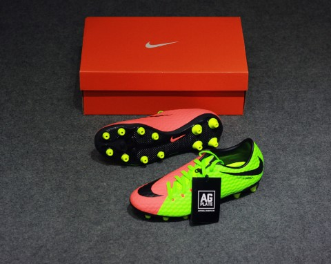 Nike Hypervenom Phelon III AG Pro- Electric Green/ Black/ Hyper Orange