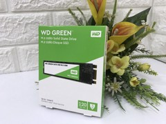 Ổ cứng SSD 120Gb - M2-2280 WD GREEN