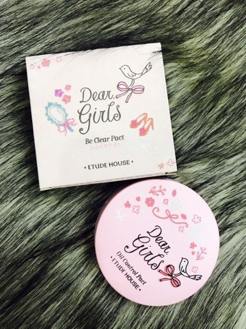 Phấn phủ Dear Girls Oil Control Pact Etude House