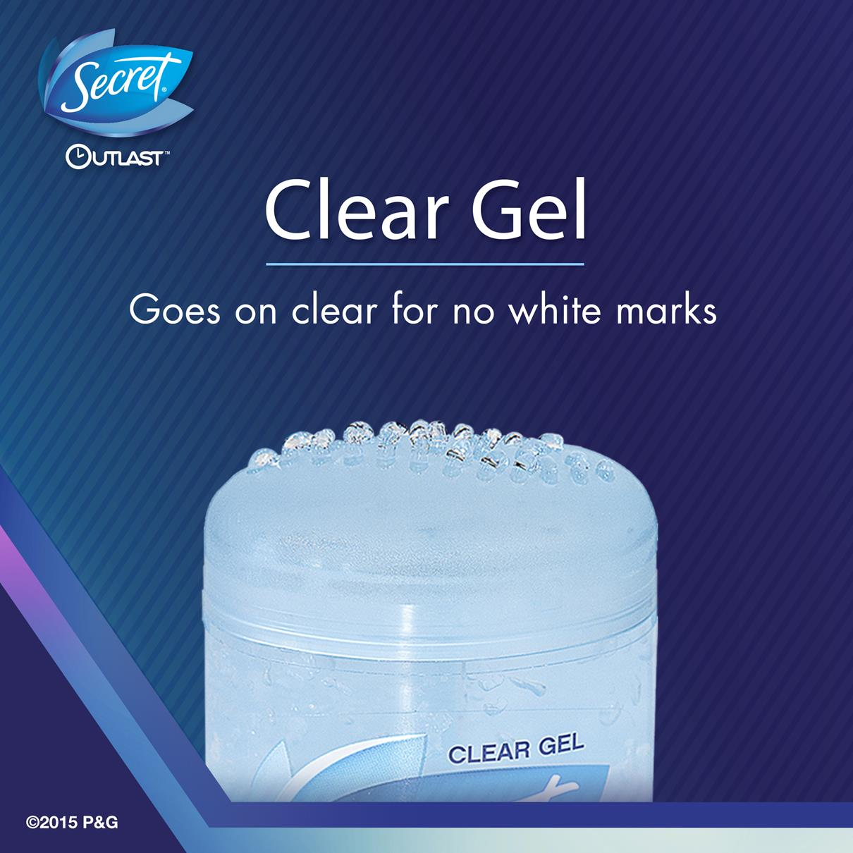 Secret Deodorant Outlast Clear Gel Complete Clean 73g