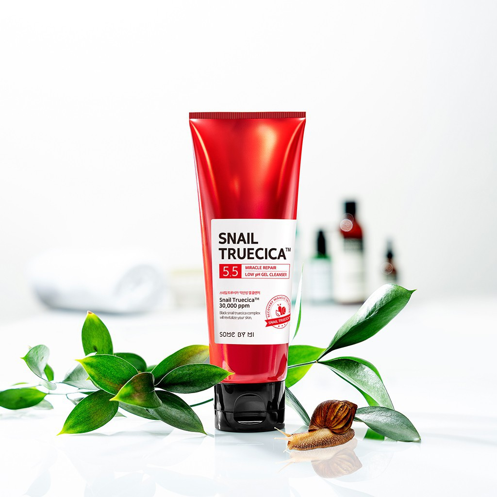 Sữa Rửa Mặt Some By Mi Snail Truecica Miracle Repair Low pH 5.5 Gel Cleanser 100ml