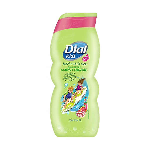 dial-kids-body-hair-wash-watery-melon-355-ml