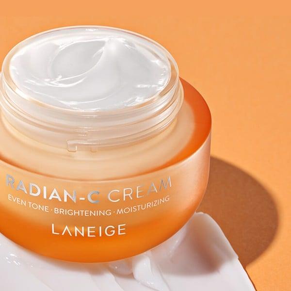 Kem Dưỡng Trắng Sáng & Đều Màu Da Laneige Radian C Cream 10ml