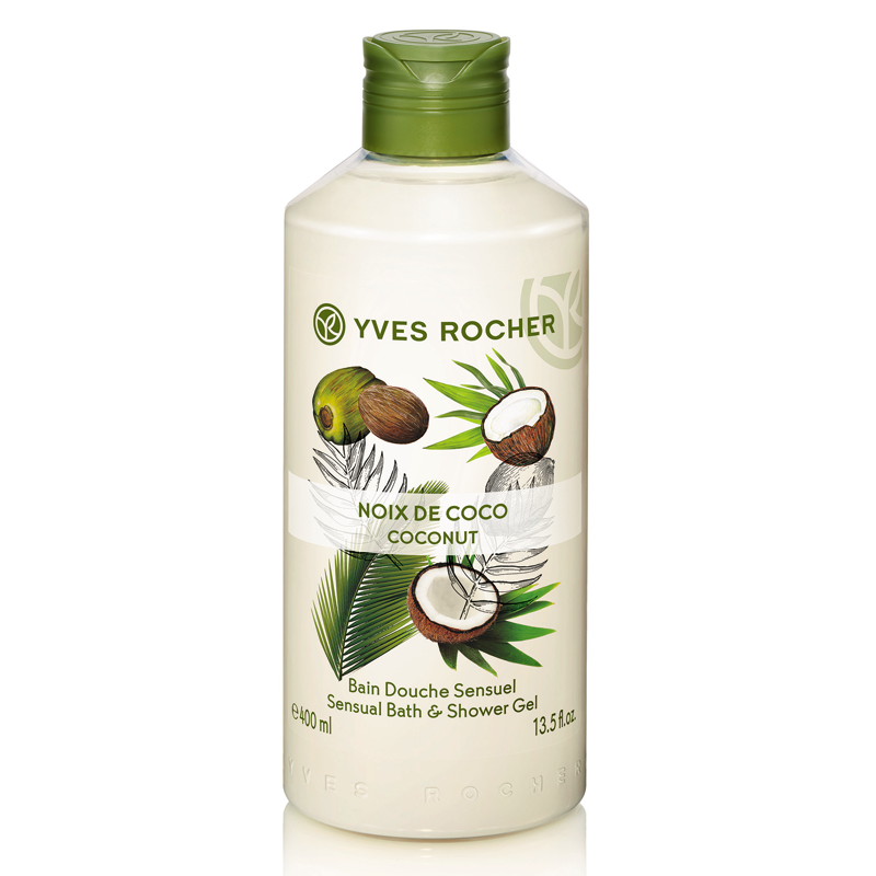 Gel Tắm Hương Dừa Yves Rocher Coconut Sensual Bath And Shower Gel 400ml