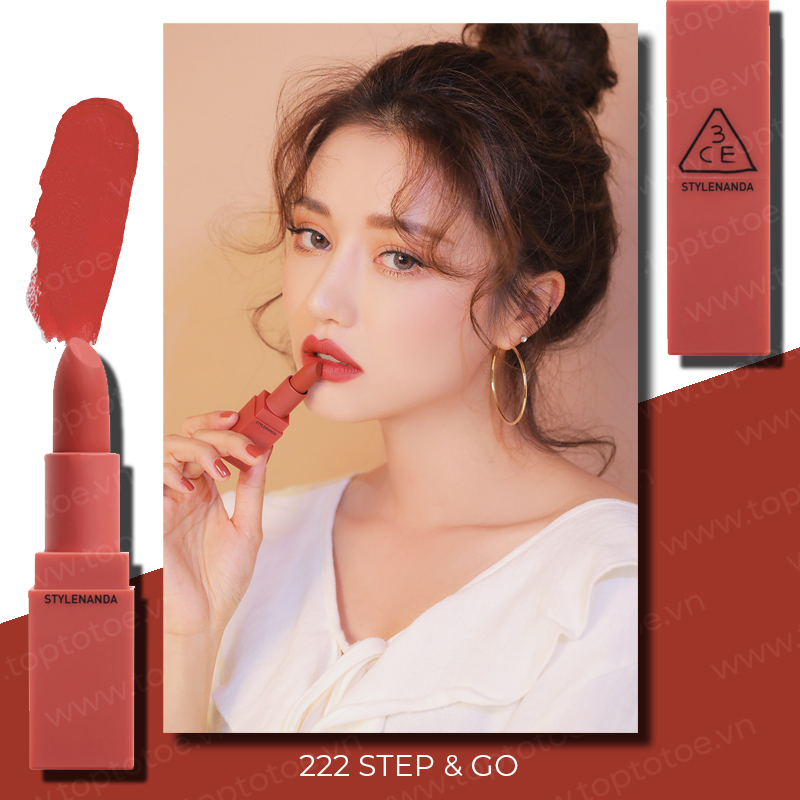 son-thoi-3ce-mood-recipe-on-off-lip-color-222-step-go-do-dat