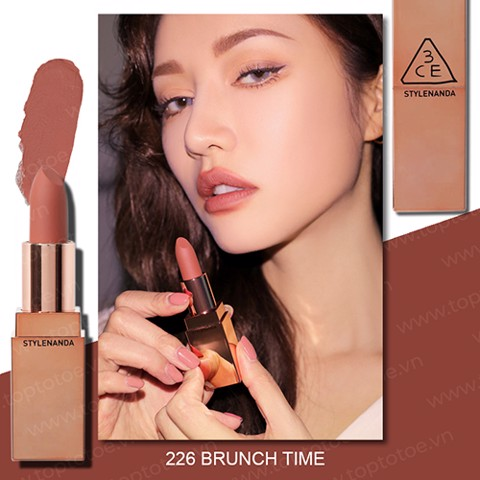 Son Lì 3CE Matte Lip Color #226 Brunch Time