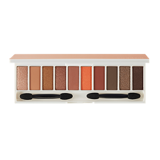 Bảng Phấn Mắt The SEAM Color MasterShadow Palette 1.1g*10 No.04 Warm Orange