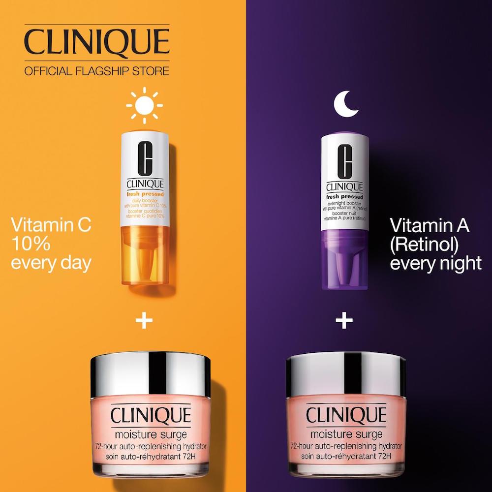 Tinh Chất Hỗ Trợ Phục Hồi Da Clinique Fresh Pressed Overnight Booster with Pure Vitamin A (retinol) 6ml